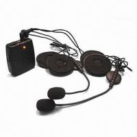 Buy cheap Wired Earphones for Motorcycle Intercom, Can be Fixed on Helmet from wholesalers