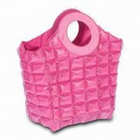 Wholesale Pink Color Inflatable Beach Bag, Made of PVC Material, Customizes Sizes and Shapes Accepted from china suppliers