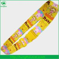 Buy cheap custom sublimation printed polyester luggage belt with plastic buckle from wholesalers