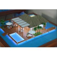 Buy cheap Durable Handmade Building Models , Table Display Exhibition Design 3D Model from wholesalers