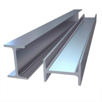 Buy cheap Carbon Structural I H Section Galvanized Steel Profile Beam for Solar Mounting Structures from wholesalers