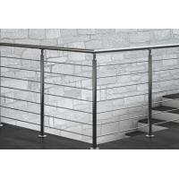 Buy cheap Modern Project Stainless Steel Rod Railing High Precision For Balcony Stair from wholesalers