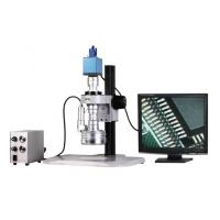 Buy cheap Magnification 25X - 152X Motorized 3D Stereo Zoom Microscope with VGA Color Camera from wholesalers