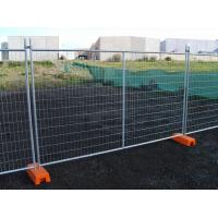 Buy cheap Hot Dipped Galvanized Temporary Fence Convenient Installation for Construction Site from wholesalers