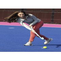 Buy cheap Green / Blue / Red Hockey Artificial Turf Synthetic Grass High Elasticity from wholesalers