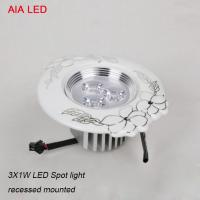 Competitive price and high quality Round china 1X3W LED spot light in living room used Manufactures