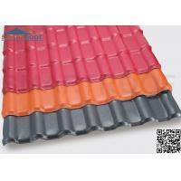 3.0mm Thickness Housetop Plastic Roof Sheets With 40mm Wave Height Manufactures