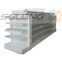 Buy cheap Metal Lotion Shelf Single / Double Sided Gondola Shelving Color Optional from wholesalers
