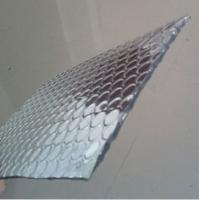 China Metalised Foil Single Air Bubble Wrap Heat Insulation 3-4mm Thickness on sale