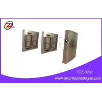 Automatic Subway Turnstile swing barrier gate for wheelchairs , 316 stainless steel Manufactures