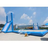 Buy cheap 45x30m mobile giant inflatable rugby football field for children N adults from China inflatable manufacturer from wholesalers