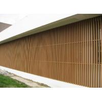 Buy cheap WPC Wall Cladding Column Panel for Screened Porch , Garden Shed from wholesalers