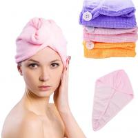 Buy cheap New Fashion 60*22cm Microfiber Absorbent Magic Quick Dry Hair Cap Dry Hair Hat Dry Hair from wholesalers