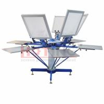 Buy cheap Manual carousel screen printing press, screen printer, silk screen printing machine from wholesalers