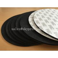 Buy cheap Black natural foam Rubber mat with 3M adhesive backing for mouse pad and gasket from wholesalers