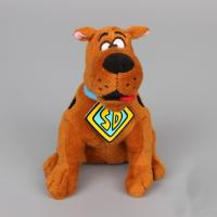 Quality 8inch Original Brown Cartoon Plush Toys Scooby Doo Sitting Pose Stuffed Animal for sale