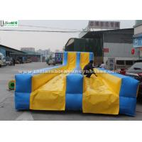 Buy cheap Colored Double Lanes Inflatable Slip N Slide Commercial For Adults from wholesalers