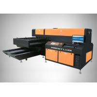 Buy cheap Cutting accuracy ±0.05 mm Packaging Industrial Wood Board Cutting Machine for Leather Cloth from wholesalers