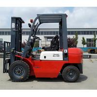 Buy cheap CPC25  2.5Ton Diesel Forklift with Duplex Mast 3.0m Lifting Height from wholesalers
