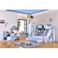 Buy cheap 2016 hot sale children furniture kids bunkbed with ladder 4 colour from wholesalers