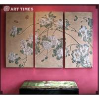 Buy cheap Wall sculpture w/camellia from wholesalers