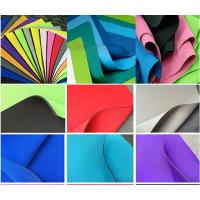 Environment SBR Neoprene , Smooth Skin SBR Rubber Sheet For Sports Manufactures