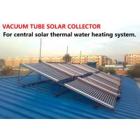 Wholesale Practical Vacuum Tube Solar Collector Φ58*1800 With Ground Mounting Bracket from china suppliers
