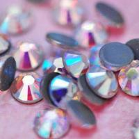 Buy cheap Hot Fix Rhinestones, Crystal AB, Top Quality from wholesalers