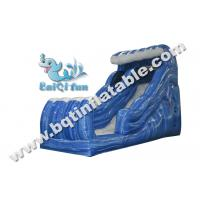 Buy cheap Inflatable wave slide,Gaint water slide,water slide with pool,Commercial slide from wholesalers