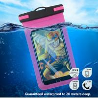 Buy cheap Clear Underwater Smartphone Case , Waterproof Phone Case Pouch With Strap from wholesalers