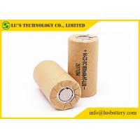 Buy cheap nicd 1.2v 1800mah sc 1.2v Ni-CD rechargeable battery 10C 20A bateria from wholesalers