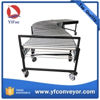 Buy cheap Gravity Expandable Flexible Steel Roller Conveyor from wholesalers