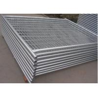 Buy cheap 38MM Pipe Removable Builders Temporary Fencing For Construction Site from wholesalers