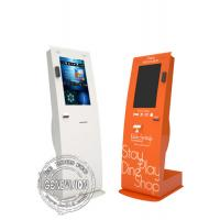 """Buy cheap Retail Information Touch Screen Kiosk 22"""" Portrait Card Swipe Printer Scanner Windows 10 OS from wholesalers"""