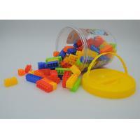 Wholesale Kids Building Blocks Educational Toys , Children's Building Sets 110Pcs In Bucket from china suppliers