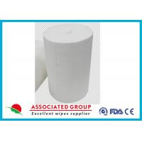 China Dry Or Wet Non Woven Roll Breakpoint Design Good For Household And Hospital Nursing on sale
