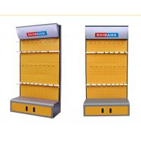 Buy cheap Disassemble Supermarket Display Shelving Metal Tool Rack With Convenient Cabinet product
