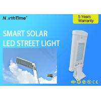Buy cheap 1500LM High Efficiency 10w Solar Powered LED Street Lights With 120° Viewing Angle from wholesalers
