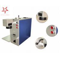 Dot Pin 20W Fiber Laser Marking Machine Easy Operation Laser Marking Equipment