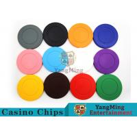 Buy cheap Roulette Dedicated / Solid Color ABS Poker Chips Can Be Custom or Print Logo from wholesalers