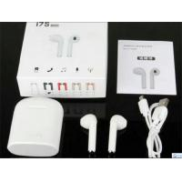 Buy cheap Bluetooth Earphones Bluetooth headset Wireless Stereo Bluetooth headphone  2018 TWS I7S with Charging box white from wholesalers
