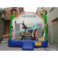 Buy cheap Children Shrek Slide Inflatable King of the Castles Bouncy Castles for product