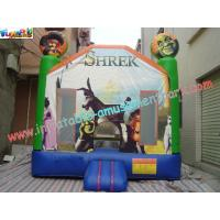 Wholesale Children Shrek Slide Inflatable King of the Castles Bouncy Castles for Commercial,Home use from china suppliers