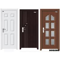 Buy cheap Customized Wood PVC Doors , Fire Wood / MDF / Solid Wood / PVC Film from wholesalers