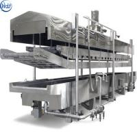 Buy cheap Electric Heating Vegetable Blanching Machine Glass Bottle Food Pasteurization from wholesalers