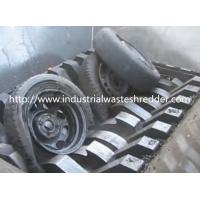 Buy cheap Double Shaft Waste Tire Shredder , Industrial Truck Tire Shredding Machine from wholesalers