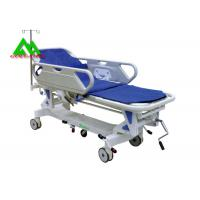 Buy cheap Hospital Electric Emergency Ambulance Stretcher Bed Trolley Height Adjustable from wholesalers