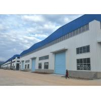 Wholesale Q235B / Q345B Steel Prefab Buildings , Light Steel Warehouse Construction from china suppliers