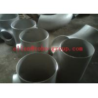 Buy cheap TOBO STEEL Group  Stainless Steel Tee ASTM A234 GR WPB , ST37.2 , ST35.8Din 1.4301 , 1.4306 , 1.4401 , 1.457 from wholesalers