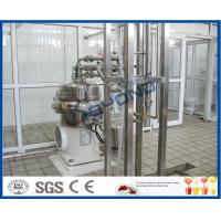 China PLC Touch Screen Control Milk Products Manufacturing Machines For Pure Milk / UHT Milk / Long Shelf Life Milk on sale